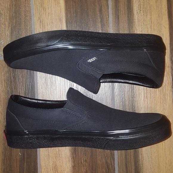Vans Other - BRAND NEW Men's Black Vans Slip On Shoes